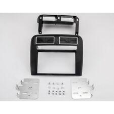 Doppel 2-DIN Radioblende Fiat Grande Punto ab 2015 Blende Einbaurahmen schwarz