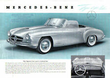 Mercedes-Benz 190 SL Roadster 1954-55 Original UK Sales Brochure