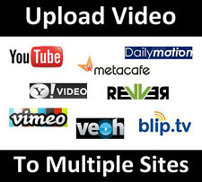Video Submission service to 50 high PR video sharing sites
