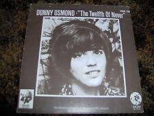 "Donny Osmond    ""The Twelfth Of Never""   Rare 73 MGM 45 P/C Single Vinyl"