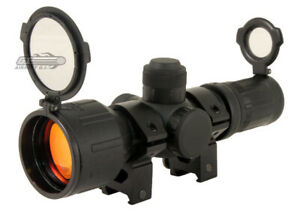 NcSTAR 3-9x42RE Rubberized Scope (Red/Green Illuminated) 7864