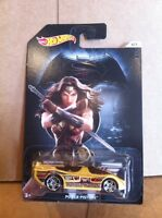 HOT WHEELS DIECAST - Batman V Superman Series -Power Pistons - Wonder Woman 6/7