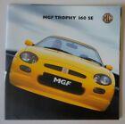 MG MGF TROPHY 160 SE Limited Edn orig 2001 UK Mkt Small Format Sales Brochure