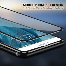 3D Echt Panzerfolie Display Schutz Panzerglas Slim Hülle Für iPhone 6 7 8 Plus