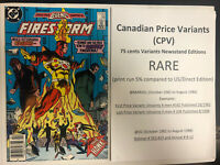 Firestorm (1986) # 56 (NM) Canadian Price Variant (CPV) ! Double Cover !