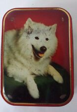 SHARPS TOFFEE TIN Made in England Dog