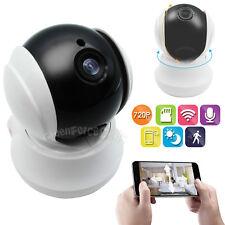 Wireless Pan Tilt 720P HD Wifi IP CCTV Camera Night Vision Webcam 2 Way Audio