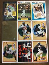 (27) Hank Aaron Baseball Card Investment Lot All Pictured Hall of Fame Big BV !!