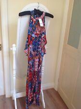 womens High Cut Neckline Dress Size 22