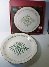 "Lenox HOLIDAY 12"" Desert Platter ""Friends & Family Gather Here NIB"