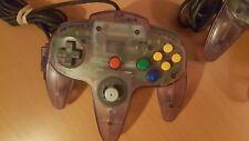Official Nintendo 64 N64 Controller Controller Atomic Purple Good Condition