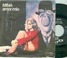 """MINA - AMOR MIO ( ITALY PDU 1063) 7""""PS   1971"""