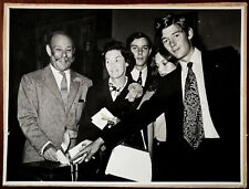 More details for photograph of sir gerald nabarro mp voting at south worcestershire election 1966