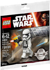 LEGO - STAR WARS FIRST ORDER STORMTROOPENER W MINIFIGURE/MINI FIGURE POLYBAG SET
