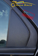 FIAT 500X ADESIVI STICKER DECAL MONTANTI POSTERIORI PORTE TUNING CARBON LOOK