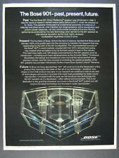 1979 Bose 901 Speakers acoustic matrix enclosure photo vintage print Ad