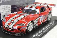 FLY A205 CHRYSLER VIPER GTS-R VALENCIA FIA GT 2004 NEW 1/32 SLOT CAR IN DISPLAY