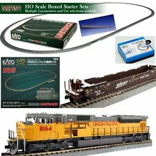 KATO 30-2008 HO Unitrack  SD90/43MAC UP Starter Train Set w Cars READY TO RUN