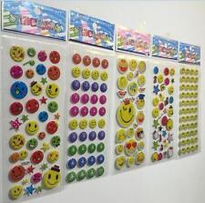 New 3D Children Stereoscopic Stickers-Lot Of 5 pcs Kids Birthday gift