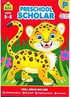 School Zone - Preschool Scholar Deluxe Edition Workbook, Ages 3 to 5, Shapes
