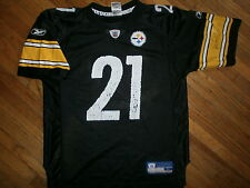 AMOS ZEREOUE PITTSBURGH STEELERS 21 JERSEY Reebok NFL Licensed Black YOUTH LARGE