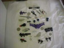 TRANSFORMER/ROBOT/WEAPONS LOT OF (36) ASSORTED PIECES   HASBRO/BANDAI/KENNER+++