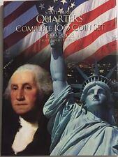 COMPLETE 100 COIN P & D STATEHOOD QUARTERS (1999-2008) COMMEMORATIVE EDITION
