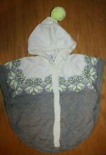 NWT Gymboree Cozy Ski Lodge Size 5T White Gray Snowflake Hooded Cardigan Sweater