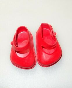 Cinderella Doll Shoes, Size 01, Red