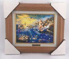 Thomas Kinkade Disney The Little Mermaid Framed Print