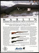 1995 MARLIN Model 995SS shown w/60 and 70PSS .22 Rifle Print AD