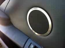 D BMW X5 E53 Chrom Ringe für Türlautsprecher hinten oben - Edelstahl poliert