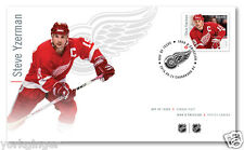 NHL® Forwards: Official First Day Cover / Steve Yzerman Great Canadian Forwards