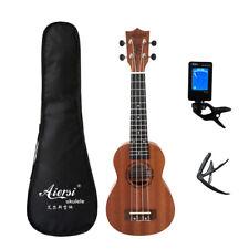 More details for aiersi full set 21 inch ukulele mahogany soprano ukulele musical hawaii guitar