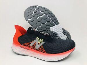 New Balance Men's 1080 V10 Running Shoe, Phantom/Neo Flame, 13 D(M) US