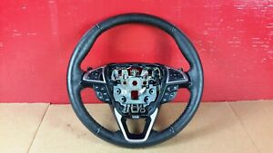 2016 Ford Edge Black Leather Steering Wheel W/ Control Buttons OEM