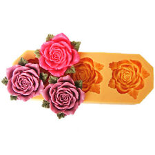 Nicole Flower Fondant Molds For Cake Decoration DIY Silicone Resin,Clay Moulds