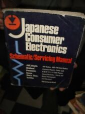 INDIA RARE - JAPANESE CONSUMER ELECTRONICS SCHEMATIC / SERVICING MANUAL TAB
