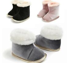 Christmas Gift Newborn Baby Boy Girl Crib Shoes Velvet Winter Booties Snow Boots