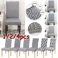 Stretch Chair Cover Protective Slipcover Dining Wedding Banquet Party Seat