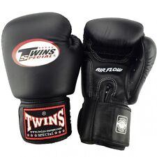 Twins Boxhandschuhe BGVL 3 Air Black,Leder. Boxen, Muay Thai, Kickboxen, MMA.