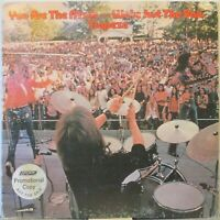 TRAPEZE You are the Music…We're Just the Band LP Rock w/Glenn Hughes (DeepPurple