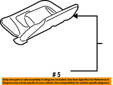FORD OEM Sunvisor-Sun Visor Right 7L2Z7804104AA