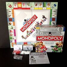 Vintage MONOPOLY Nintendo Collector's Edition 6 Collectible Tokens -NEW OPEN BOX
