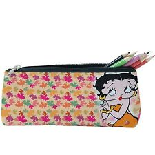 BETTY BOOP  BLACK TOILETRY TRAVEL HAND BAG CARRY CASE 25x20x10cm SU