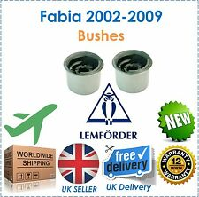 For Skoda Fabia 2002-2009 Front Wishbone Rear Bushes LEMFORDER New OE Quality