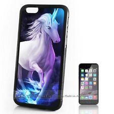 ( For iPhone 4 / 4S ) Back Case Cover P11583 Horse Unicorn