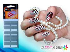 SmART-nails - Stripes Nail Art Stencil Set N018 Professional Nail Product