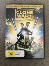 Star Wars: The Clone Wars DVD  - R4 (2 Disc Special Edition)