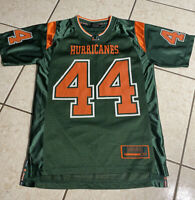 Miami Hurricanes Youth Medium Mens Small Colosseum Stitched Football Jersey Boys